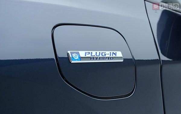 ガソリンとEV走行を組み合わせれば、500km以上走行可能。