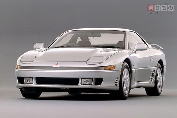 三菱「GTO」前期型(画像:三菱自動車)。