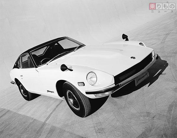 初代「フェアレディZ」2シーターモデル(画像:日産自動車)。