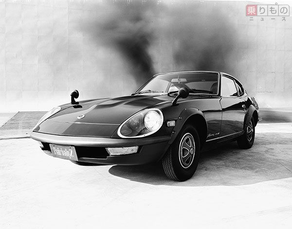 240ZGモデルのエクステリア(画像:日産自動車)。