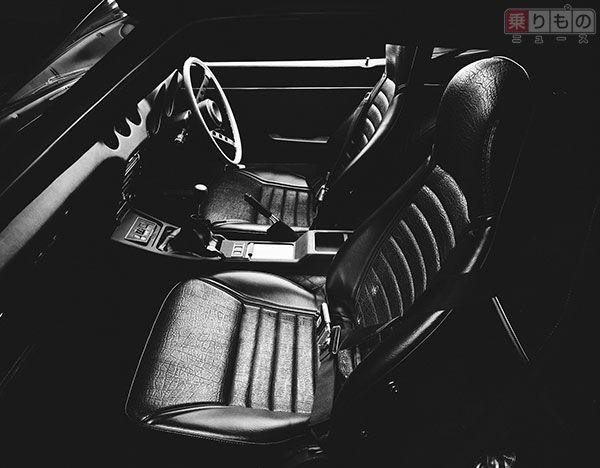 240ZGモデルのインテリア(画像:日産自動車)。