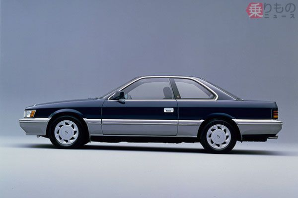 1986発売「レパード アルティマ」(画像:日産自動車)。