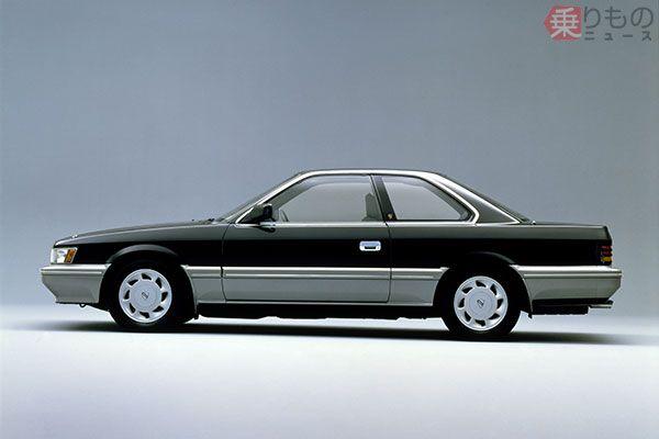 1986年発売「レパード XS-II」(画像:日産自動車)。