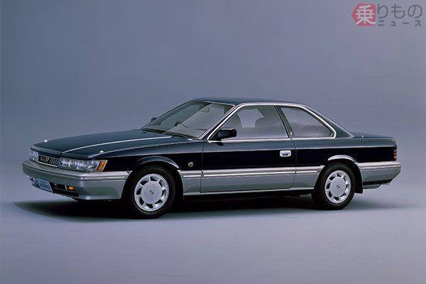 1987年発売「アルティマ グランドセレクション」(画像:日産自動車)。