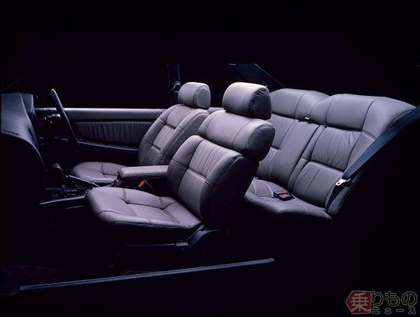 1988年発売「レパード V30アルティマ ツインカムターボ」(画像:日産自動車)。
