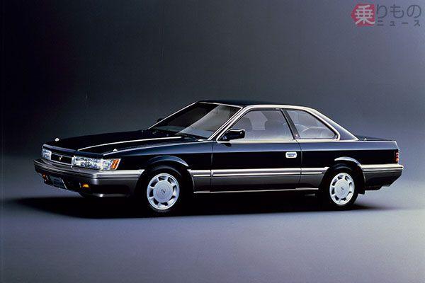 1986年発売の日産「レパード アルティマ」。レパードは英語で「豹(ひょう)」の意(画像:日産自動車)。