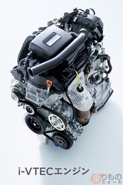 i-VTECエンジン(画像:ホンダ)。