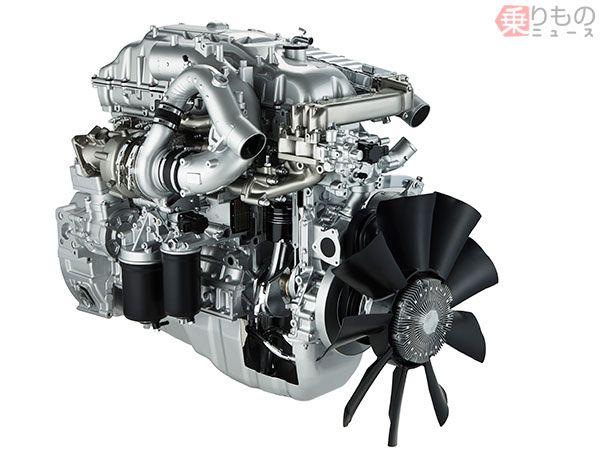 ディーゼルエンジン、6UZ1-TCS(画像:いすゞ)。